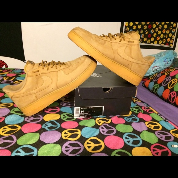 a488457f Nike Shoes | Air Force 1 Low Flax Wheat | Poshmark